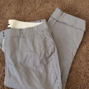 NWOT lane Bryant striped Capri slack